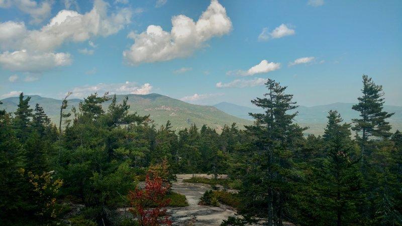 Peak of White Ledge Trail.