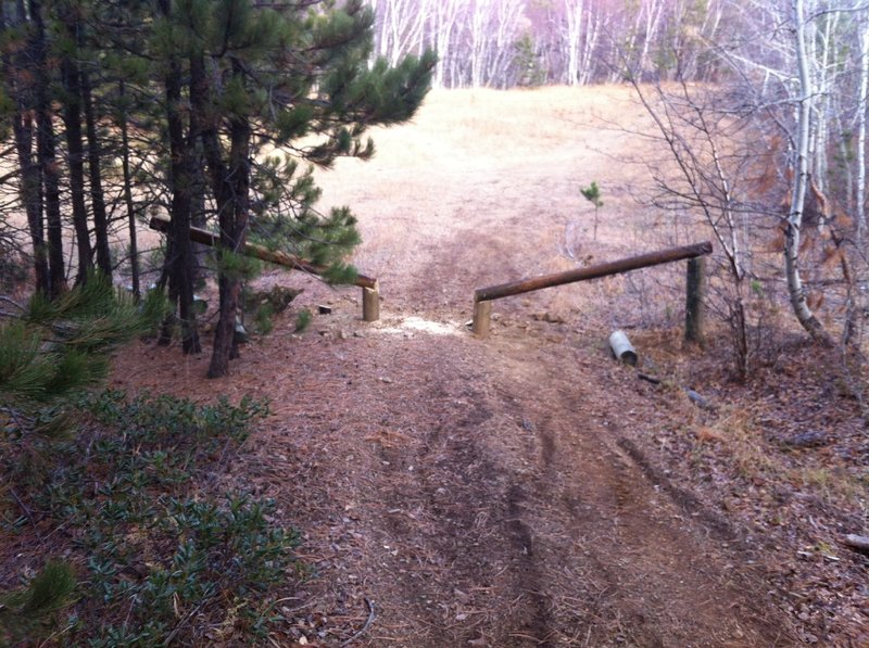 ATV Barrier-View of Upper ogden meadow.