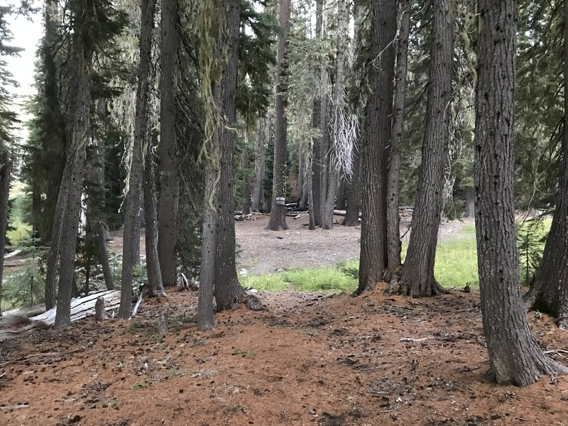 Intersection of Haypress and Stanshaw Trails