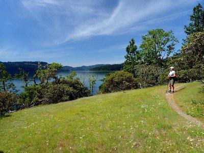 Lost Creek Lake Trail Hiking Trail, Prospect, Oregon