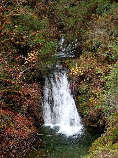 Burned Timber Creek Falls
