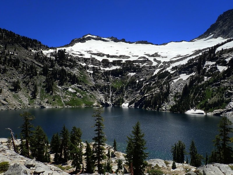 Grizzly Lake in the Trinity Alps.