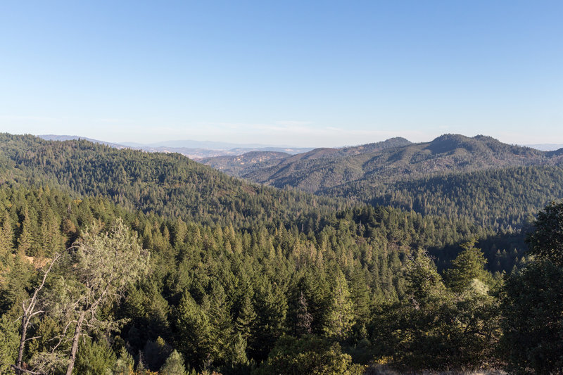 Panoramic view from Bear Rock Overlook.