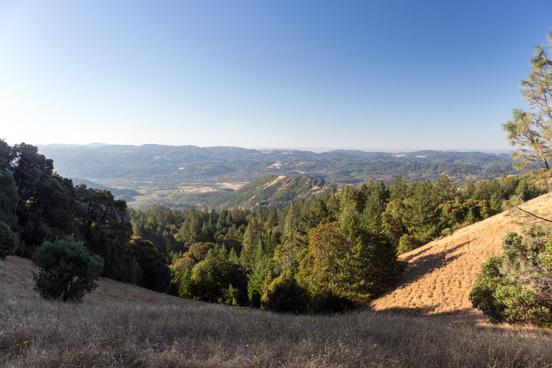 View south from Table Rock Trail
