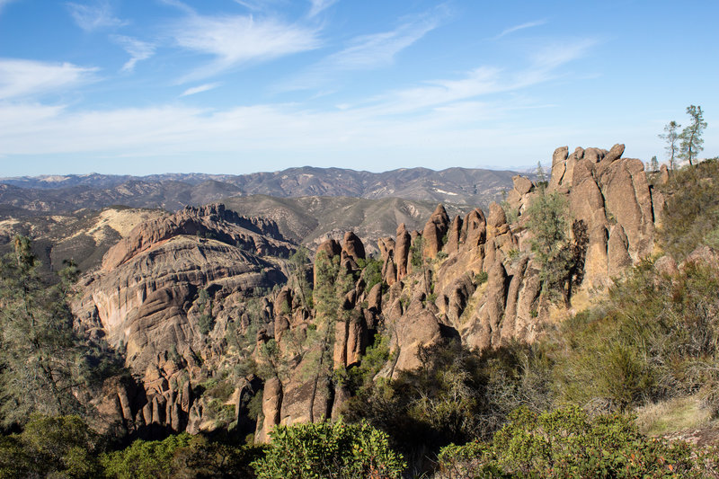 The heart of Pinnacles National Park