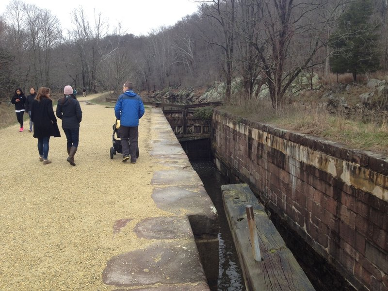 The trails offer a great mix of scenery and history that is accessible to the whole family