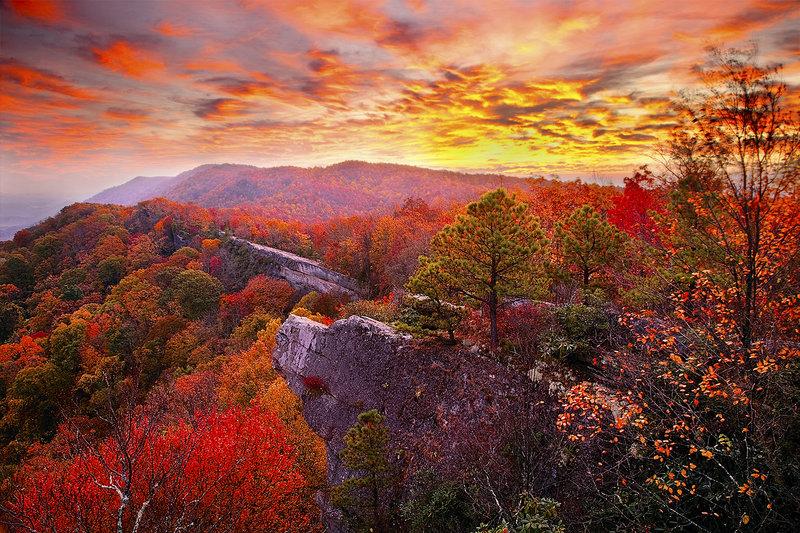 High Rock sunrise