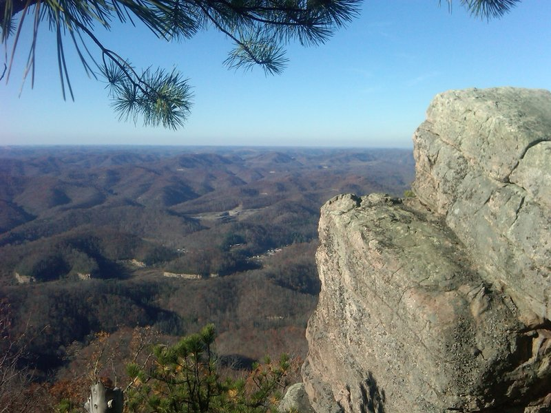 View from High Rock
