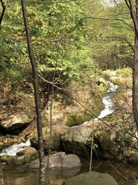Cascade and picnic spot