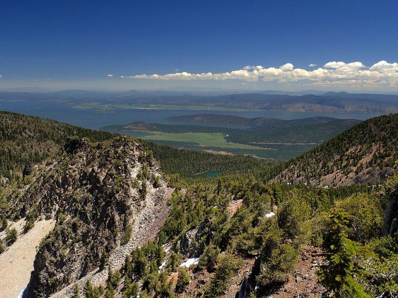 Upper Klamath Lake from Aspen Butte