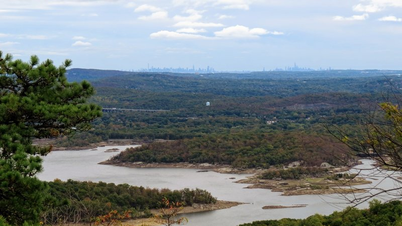 Norvin Green State Forest offers plenty of adventure for those on foot, but extraordinary days can be marked when the sky is clear and New York City's Skyline is in view.