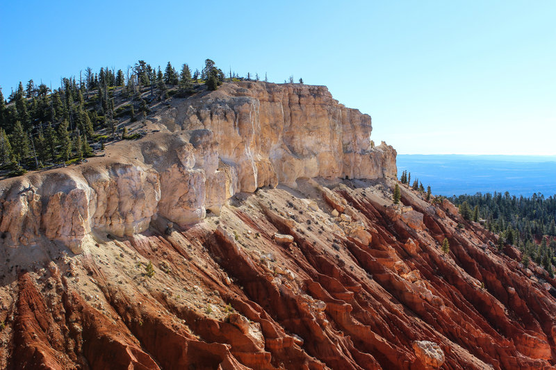 Cliffs from Bristlecone Loop Trail