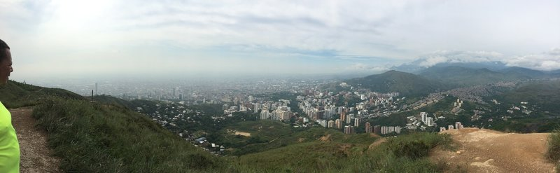 View of Cali Colombia.