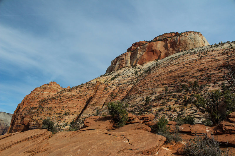 Mountains above Canyon Overlook.