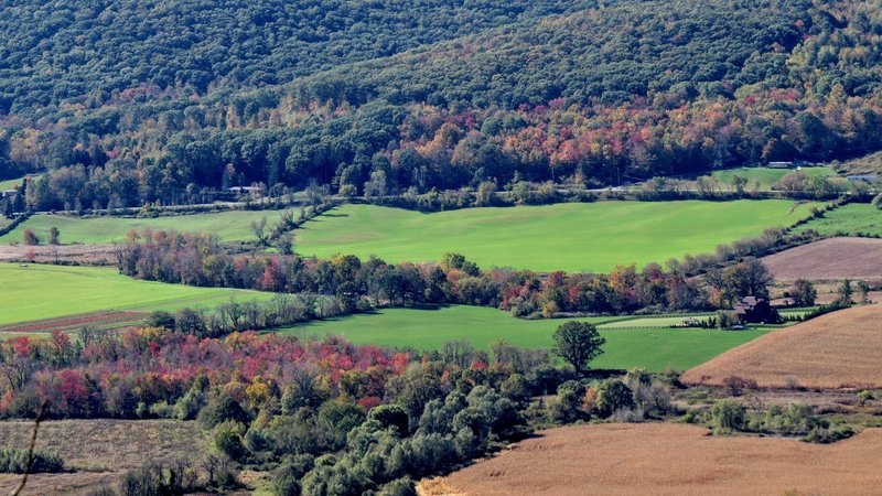 Autumn in all it's glory is on full display in the Hudson Valley.