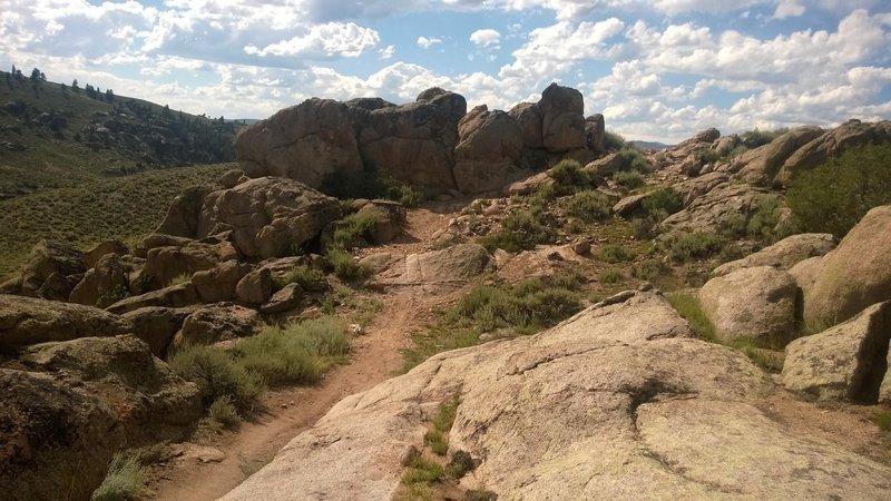 Cool rocks on The Ridge!