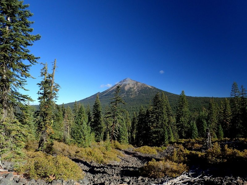Mount McLoughlin from the west side of Brown Mountain.
