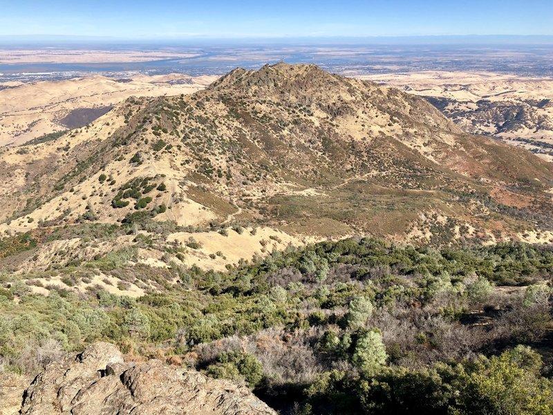 Diablo Summit observation deck lookout