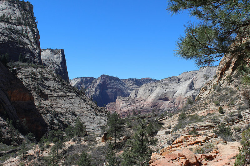 Zion Canyon from afar