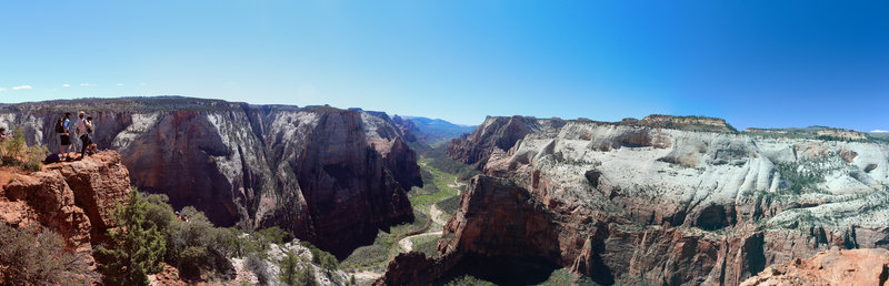 Panoramic view from Zion Observation Point