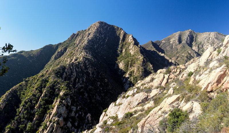 Arlington Peak from Tunnel Trail.