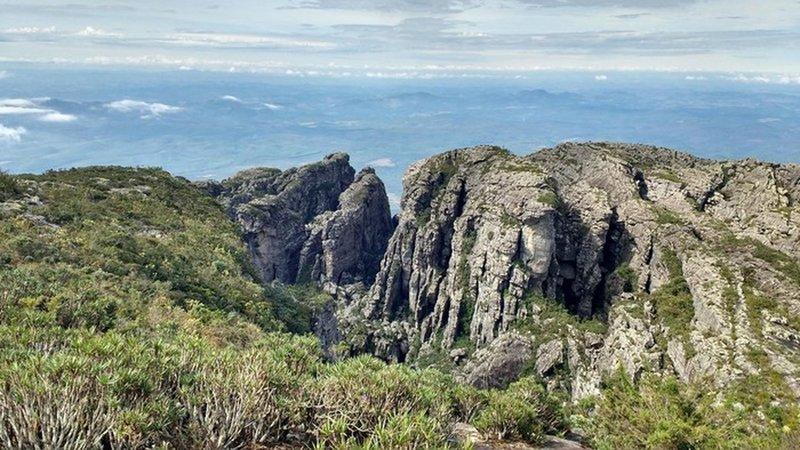 Summit of Inficionado Peak and Devils Throat.