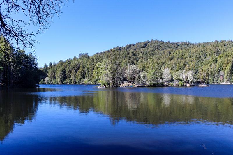 Clar Innis from Loch Trail.