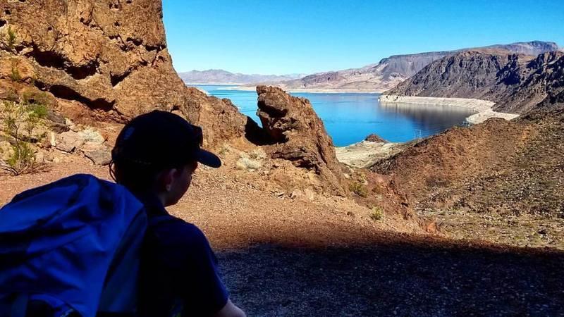 Lake Mead Overlook.