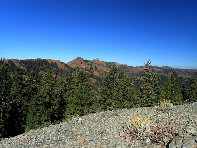 Kings Castle from the Box Camp Trail