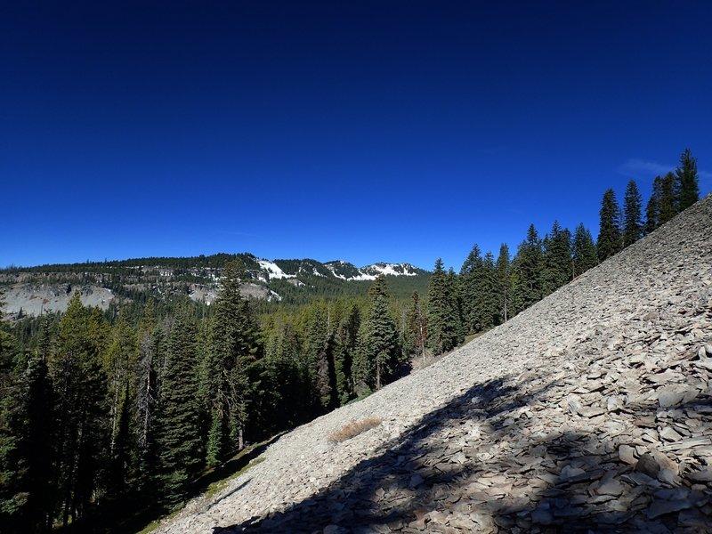 Devils Peak from the Nannie Creek Trail