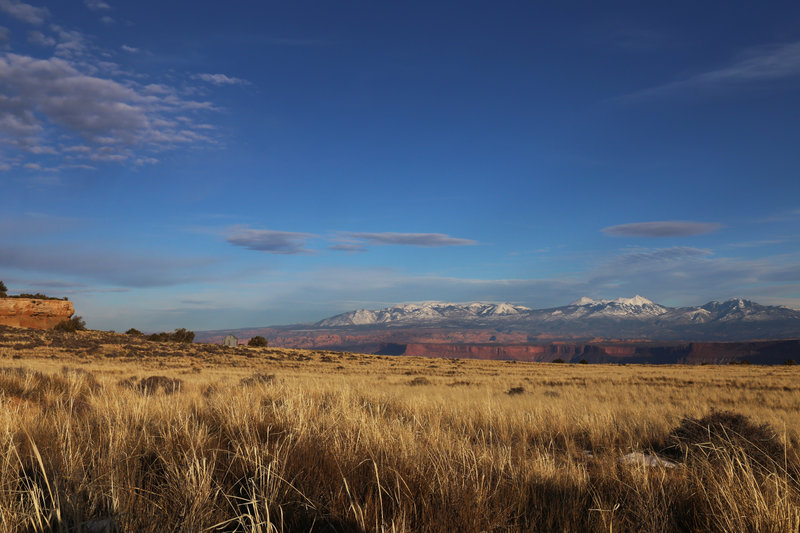 Gray's Pasture - Lathrop Canyon Trail - Canyonlands NP