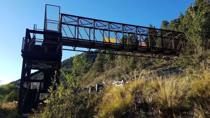 Trail overpass at Highway 82