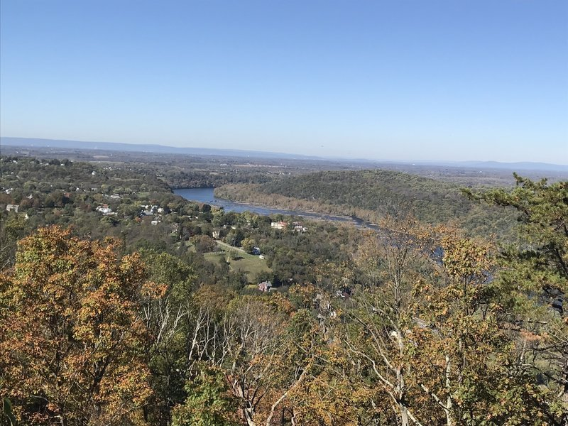 First real overlook on the trail. It's on a power line but the view is still nice.