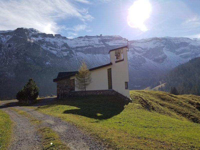 Alpine church at Gitschenen