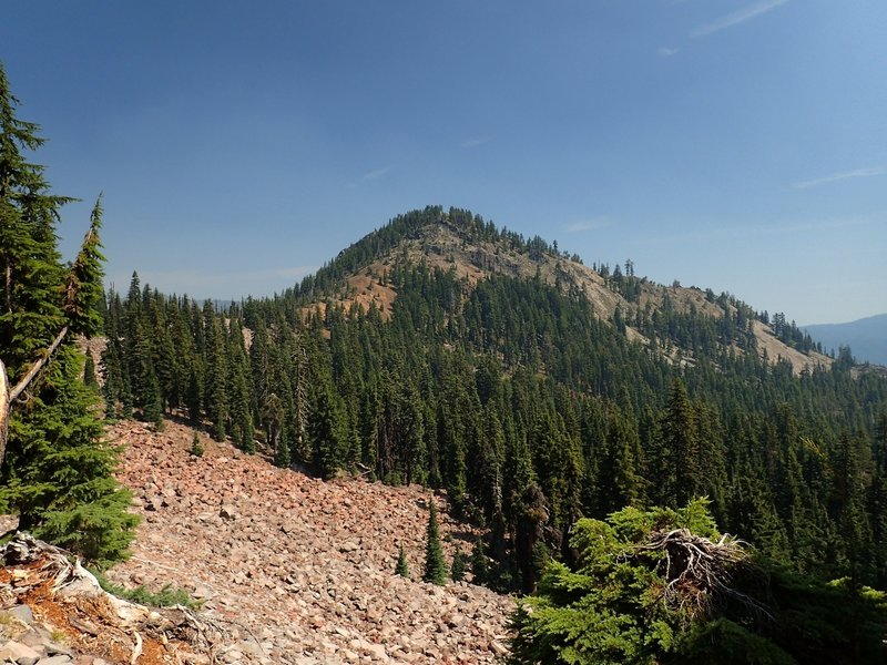 Luther Mountain from the PCT