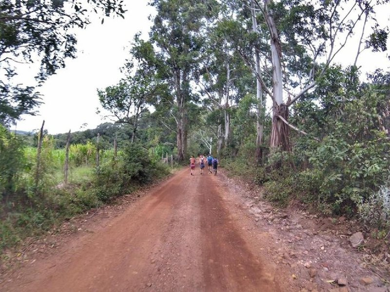 The beginning of Abcdario Yrail is the only dirt road.