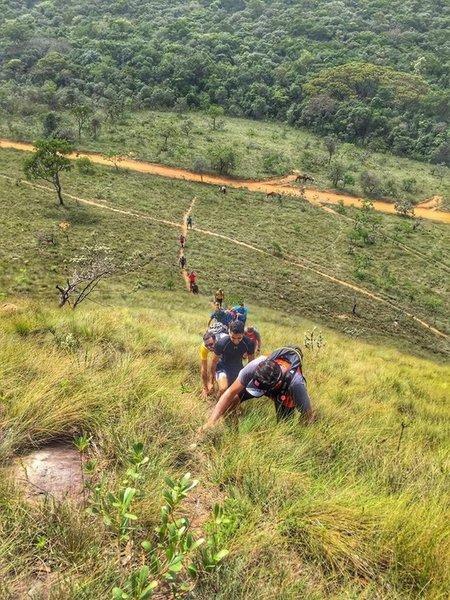 The famous C do Gato uphill.