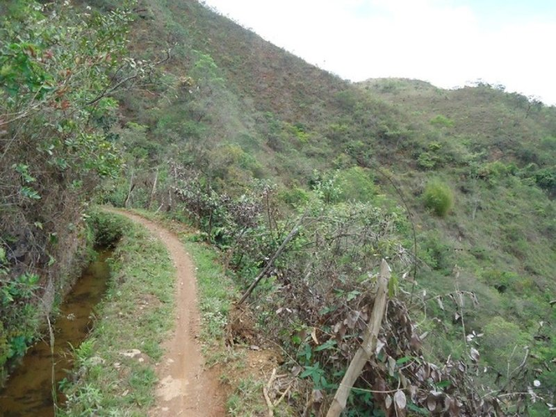 It is always a flat and nice singletrack.