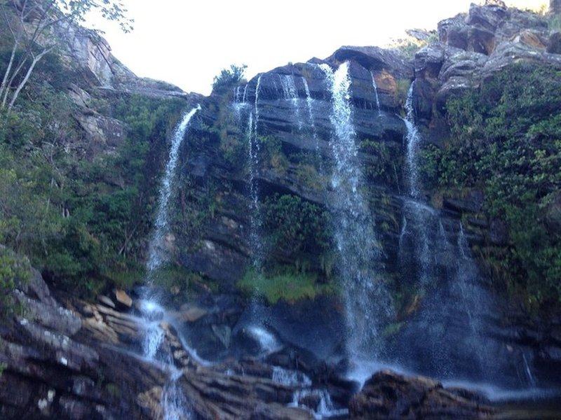 Congonhas waterfall