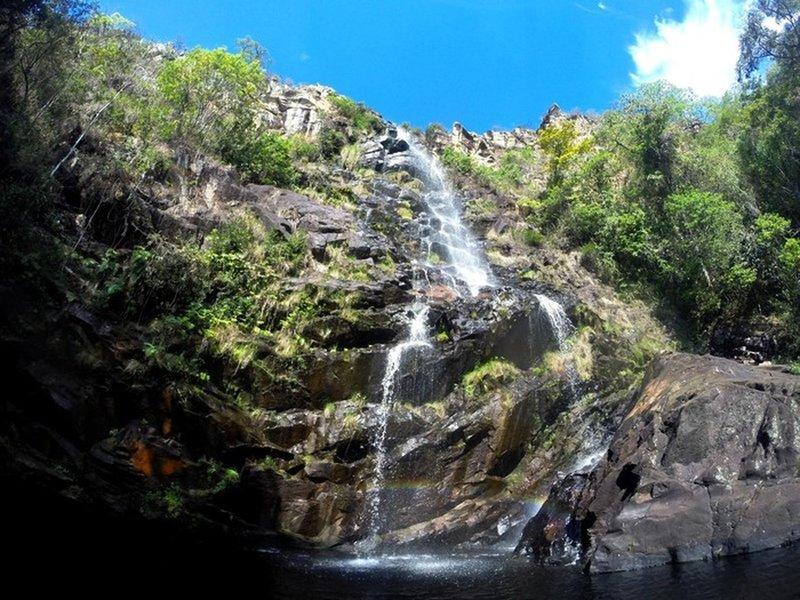 Farofa de Cima waterfall