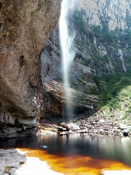 The amazing Peixe Tolo Canyon.