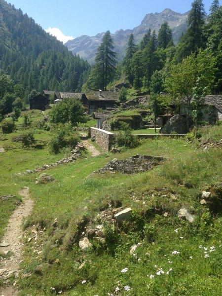 PECCIA village