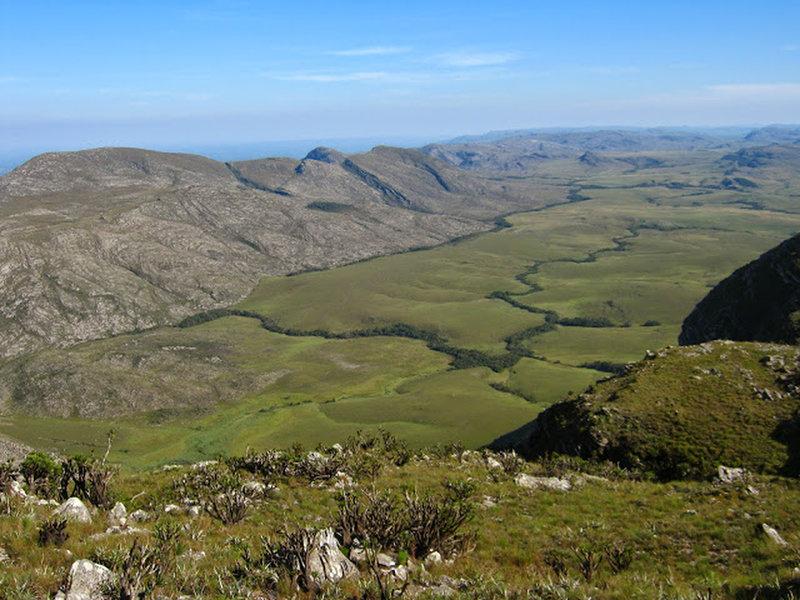 Summits of Lapinha.