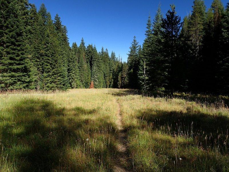 Along the Mountain Lakes Trail