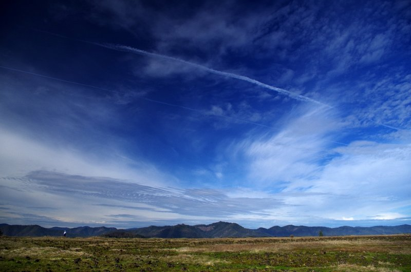 Big sky over Lower Table Rock