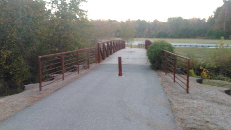 Foot bridge.