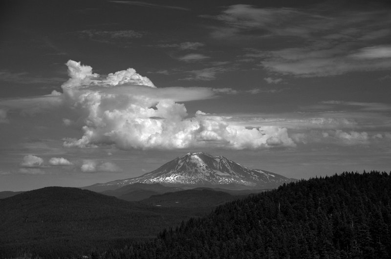 Mount Adams from the Huffman Peak Trail #129
