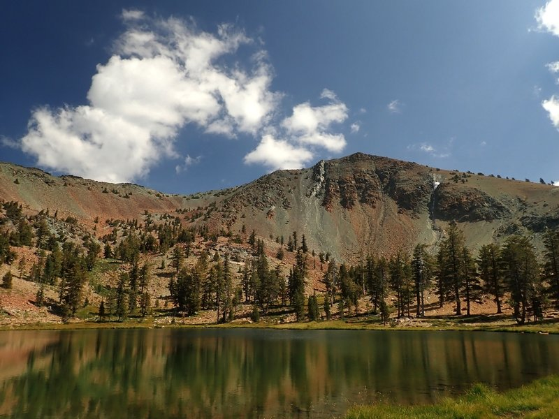 Upper Deadfall Lake with Mount Eddy above