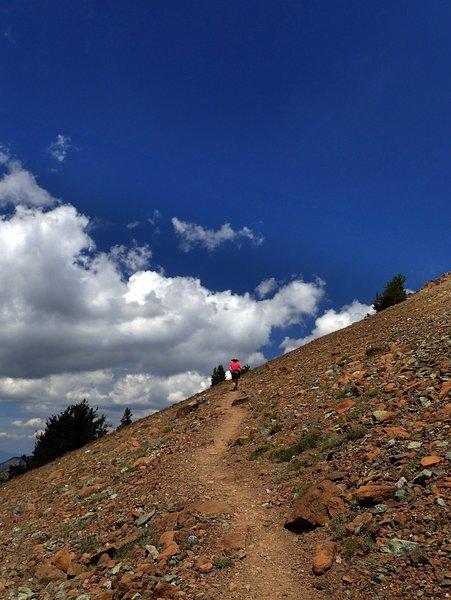 Up the Mount Eddy Summit Trail