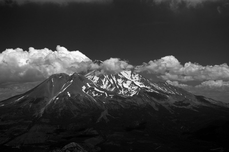 Mount Shasta from the summit of Mount Eddy